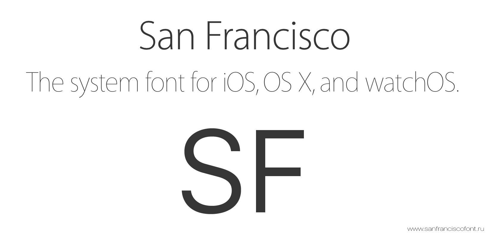 San Francisco(SF UI)