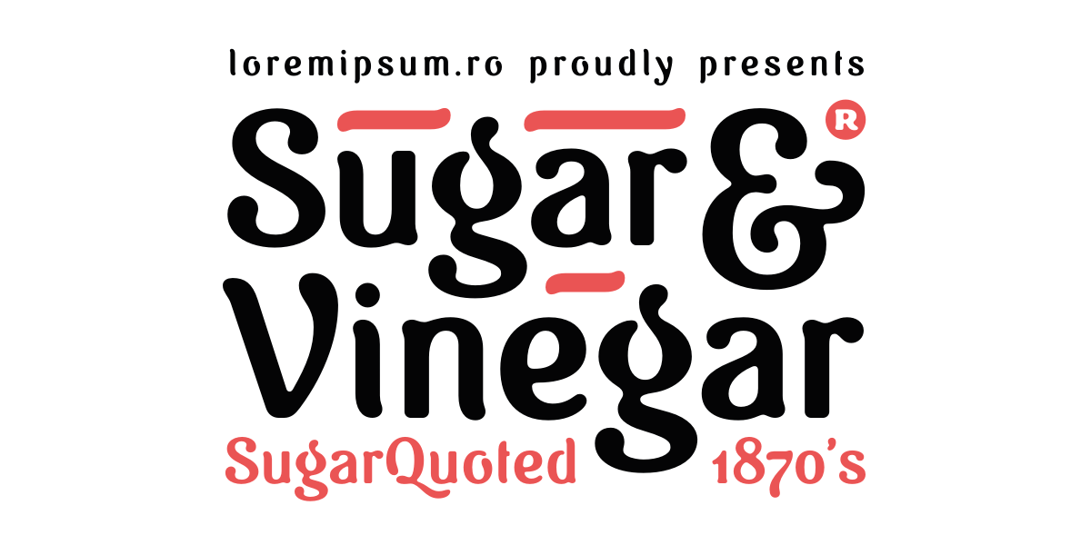 Sugar & Vinegar
