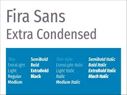Fira Sans Extra Condensed