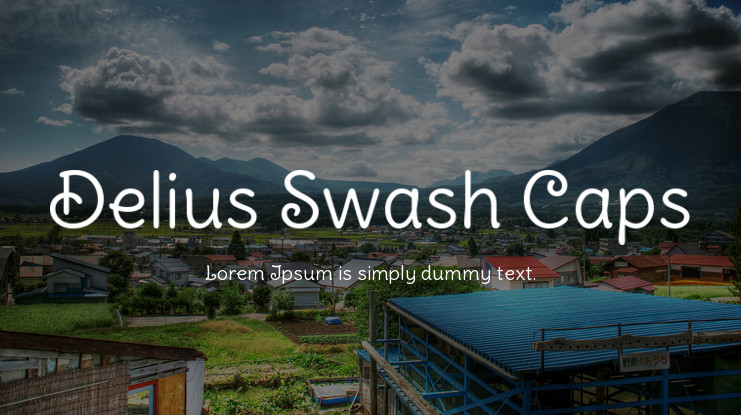 Delius Swash Caps