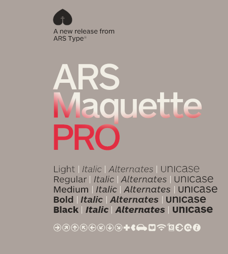 ars maquette pro font free download