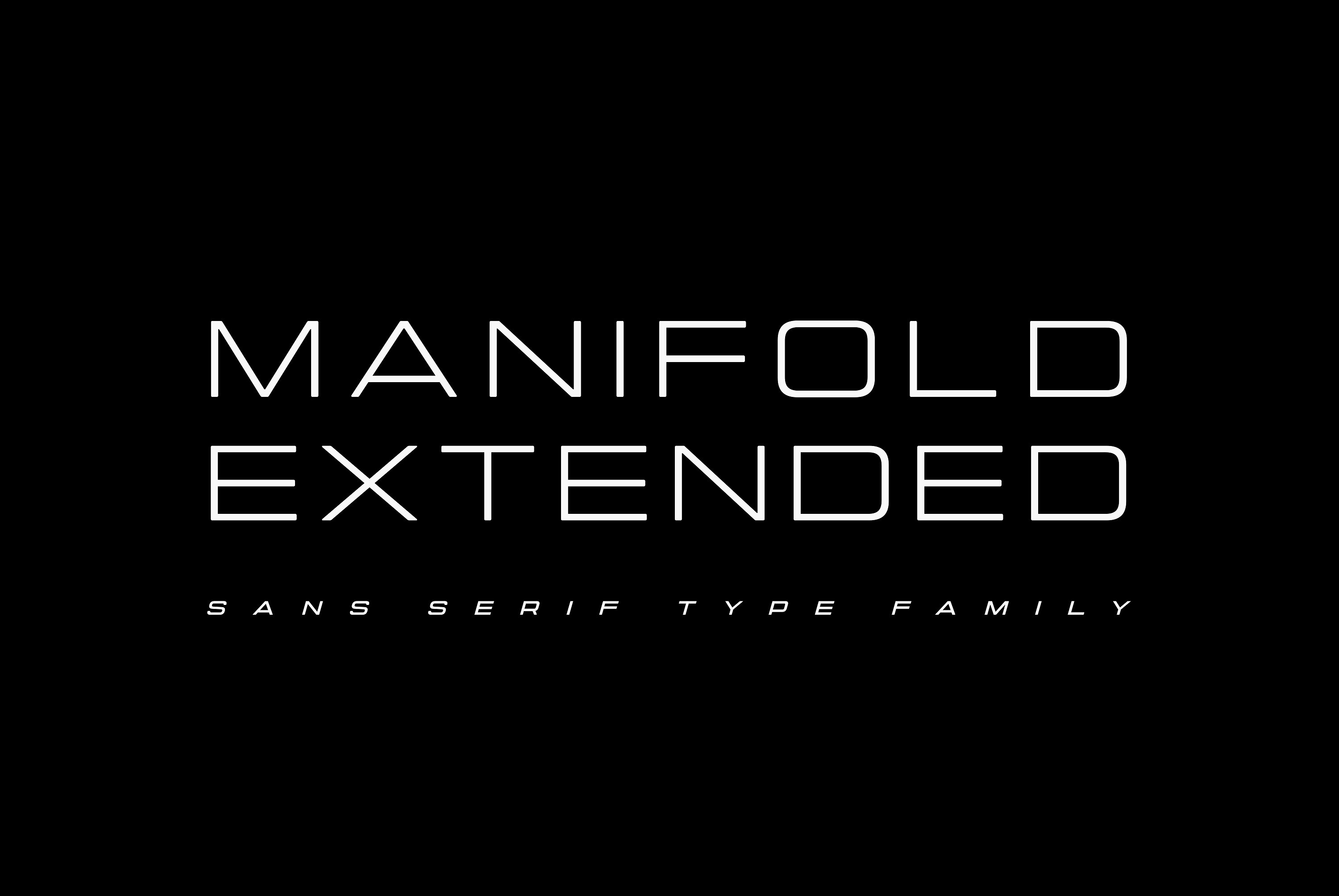 Manifold Extended